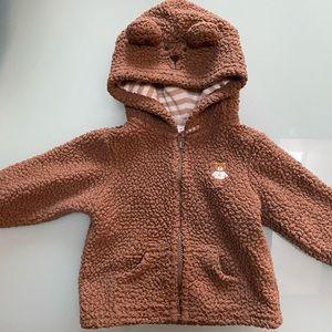Carter's baby bear hoodie 6m